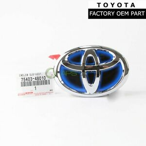 Genuine Toyota Camry Prius C Trunk Lid Emblem Sub Assembly Lug Oem 75403 48010