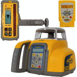 Spectra Precision Trimble Gl422n Dual Grade Self Leveling Laser Level