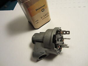 1961 Chevy Delco Ignition Switch D1417 1116592