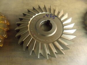 5 0 Diameter Hss 485 Slitting Side Milling Cutter