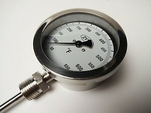 pavemade Temperature Gauge For Hotbox 10 Asphalt Mobile Kettle Sealcoating
