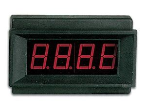 Velleman Pmled Digital Panel Meter Led 9v Dc