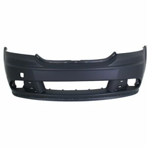 Front Bumper Cover For 2011 2016 Dodge Journey W Fog Lamp Holes Primed Capa