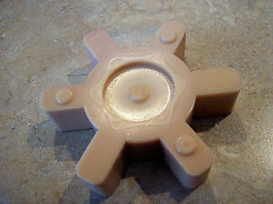 New Lovejoy Martin Type L 110 Hytrel Solid Center Jaw Coupling Spider Coupler