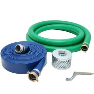 Abbott Rubber 3 inch Water Trash Pump Hose Kit Made In The Usa