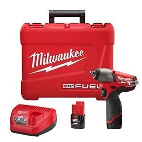 Milwaukee 2454 22 M12 Fuel 12v Cordless Lithium ion 3 8 In Impact Wrench