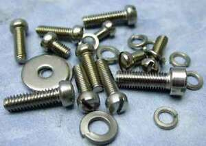 Ford Holley 94 Carburetor Stainless Screws And Washers Hardware