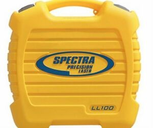 Spectra Precision Laser Ll100 hv101 Case New 18179
