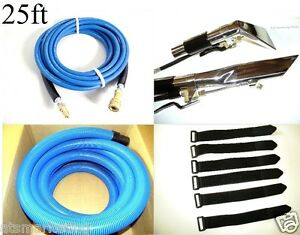 25ft Carpet Auto Interior Cleaning Hose Tools Combo