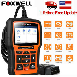 Foxwell Nt510 For Gm Code Reader Automotive All System Obd2 Diagnostic Scan Tool