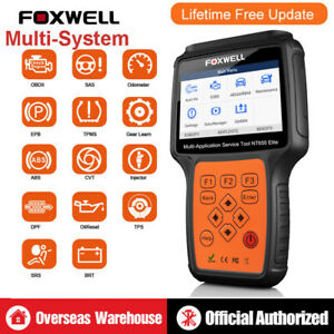 Foxwell Nt650 Abs Airbag Sas Epb Dpf Tps Oil Reset Special Function Auto Scanner