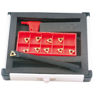 5 8 Internal Indexable Threading Tool Holder insert Kit 2302 1625