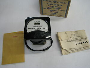 General Electric ge 8kt9 Vintage Timer Meter new