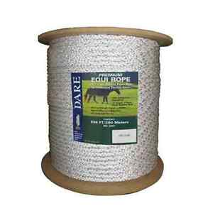 Horse Electric Fence Heavy Duty Braided Stainless Steel Wire Dare Equi Rope 7mm