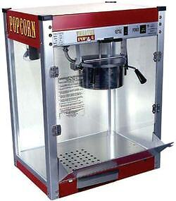 Commercial 16 Oz Popcorn Machine Theater Popper Maker Paragon Tp 16 1116110