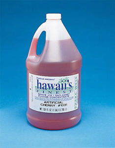 Snow Cone Shaved Ice Syrup Concentrate 1030ga Strawberry Flavor 1 Gal 32 Gal