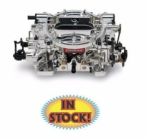 Edelbrock 18054 Thunder Series 650 Cfm Carburetor Manual Choke Endura