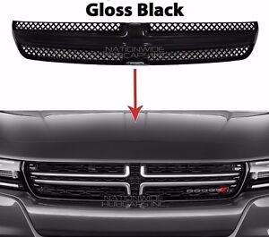 Fits Dodge Charger 2015 19 Gloss Black Grille Overlay Front Grill Inserts Covers