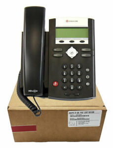 Polycom Ip 335 Voip Sip Phone Poe Power Supply Not Included 2200 12375 025
