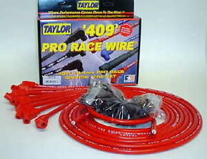 Taylor 409 Pro Race 8 Cyl Red 135 Degree 10 4mm Wires