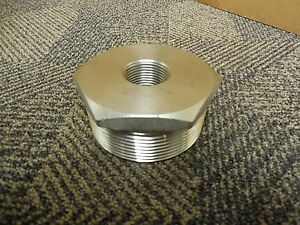 No Name 3 X 1 Tk Npt Reducer 304 Stainless S s New