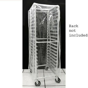 Clear Cover For 20 tier Bun pan Rack