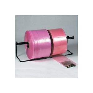 anti static Poly Tubing 2 Mil 4 X 2150 Pink 1 roll