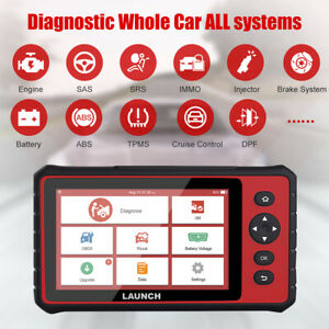 Launch X431 Crp909 Obd2 Car Automotive Wifi Full Systems Diagnostic Scanner Tool