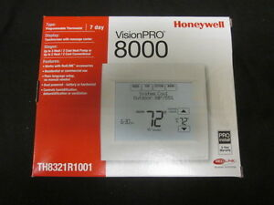 Honeywell Visionpro 8000 W redlink 7day Progr 3h 2c Thermostat Th8321r1001