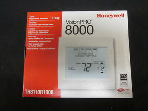 Honeywell Visionpro 8000 W redlink 7day Progr 1h 1c Thermostat Th8110r1008