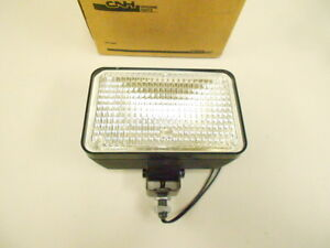 251526 Case Wheel Loader Halogen Flood Lamp Work Utility Light 4 X 6 5