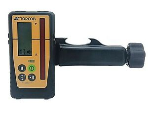 Topcon Ls 100d Digital Rotating Laser Level Detector With H100 Rod Mount