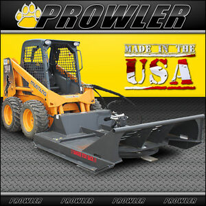 72 Inch Extreme Duty Brush Mower 30 48 Gpm High Flow Skid Steer Cutter
