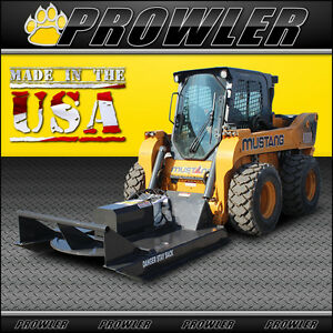 60 Inch Standard Duty Brush Mower 11 20 Gpm Flow Skid Steer Cutter Attachment