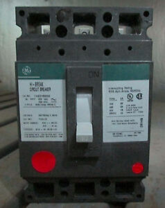 General Electric 30 Amp Circuit Breaker Thed136030 Green Label