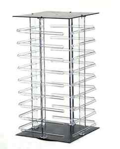 For Sale Counter Earring Revolving Display 4 Sided 10 5 x19 5 h clear black