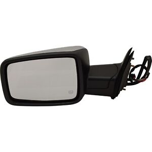 Mirror For 2009 2010 Dodge Ram 1500 Manual Folding With Memory Chrome Front Left