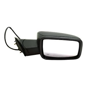 Mirror For 2009 2010 Dodge Ram 1500 Manual Folding Textured Black Front Right