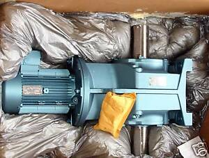New Sew Eurodrive Electric Motor And Reduction Gear 7 5 Hp