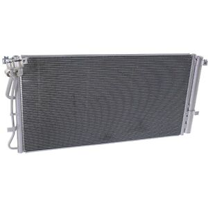Ac Condenser For 2010 2012 Hyundai Genesis Coupe With Receiver Drier Aluminum