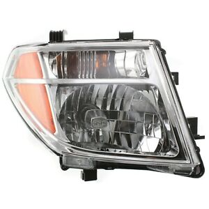 Headlight For 2005 2008 Nissan Frontier 2005 2007 Pathfinder Passenger W Bulb