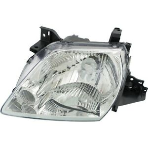 Headlight For 2002 2003 Mazda Mpv Es Lx Models 3l 6cyl Engine Left