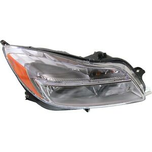 Headlight For 2011 Buick Regal Cxl 2012 2013 Buick Regal Gs Right With Bulb