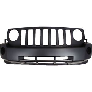 Front Bumper Cover For 2007 2010 Jeep Patriot Primed Capa