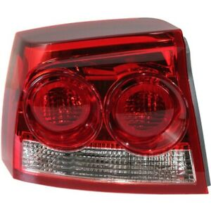 Tail Light For 2009 2010 Dodge Charger Driver Side