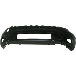 Front Lower Bumper Cover For 11 15 Ford Explorer W Fog Lamp Holes Textured Capa