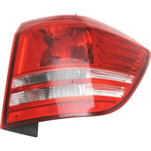 Tail Light For 2009 2018 Dodge Journey Right Outer Halogen With Bulb Capa