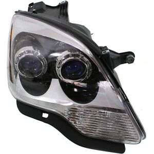 Headlight For 2007 2008 Gmc Acadia Sle Slt Models Right Blue Projector With Bulb