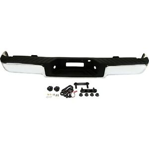 Step Bumper For 2006 2008 Ford F 150 Assembly Pull Bar Style Chrome Rear