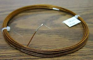 25 Pelican Glass Core Kapton Heating Resistance Wire 36 Awg 18 5 Ohms Foot